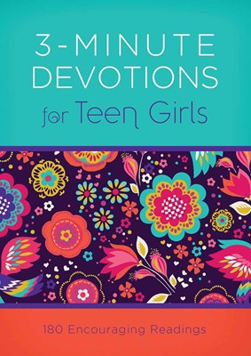 3-Minute Devotions fo Teen Girls (Mass Market Paperback)