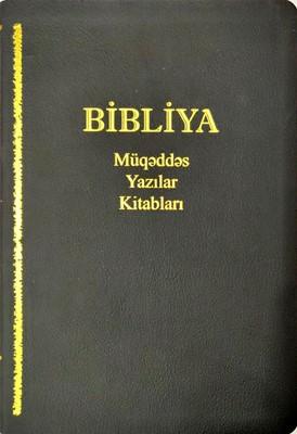 Bibliya Müqəddəs Yazılar Kitabları (Leather)