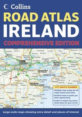 Comprehensive Road Atlas Ireland (Paperback)