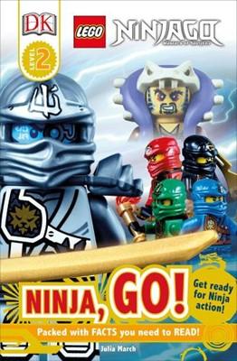 DK Readers L2: Lego Ninjago: Ninja, Go!: Get Ready for Ninja Action! (Paperback)