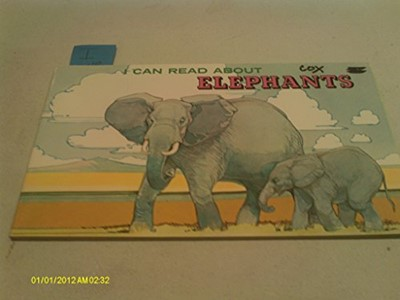 I Can Read! About Elephants (Paperback)