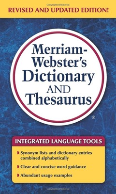 Merriam-Webster's Dictionary and Thesaurus (Mass Market Paperback)