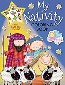 My Nativity Coloring Book (Paperback)