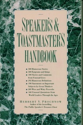 Speaker's and Toastmaster's Handbook (Paperback)