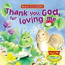 Thank you God for loving me (Board book)