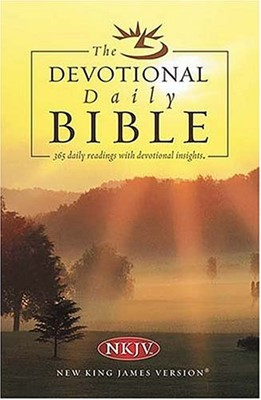 Daily Devotional Bible, The (Paperback)