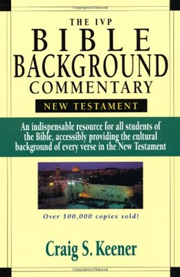The IVP Bible Background Commentary: New Testament (Hardcover)