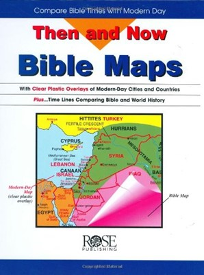 Then and Now Bible Map (Disc)