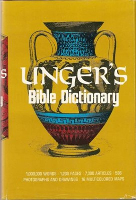 Unger's Bible Dictionary (Hardcover)
