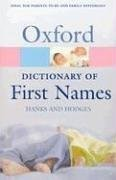 Dictionary of First Names, A (Paperback)