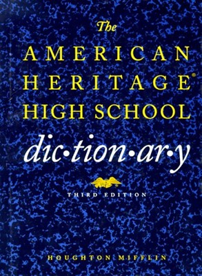 American Heritage High School Dictionary, The (Hardcover)