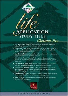 Life Application Study Bible (Leather)