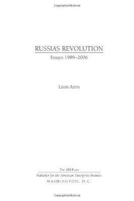 Russia's Revolution (Hard Cover)