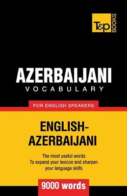 Azerbaijani Vocabulary for English Speakers (Board Book)