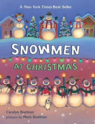 Snowmen at Christmas (Board Book)