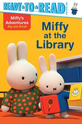 Miffy at the Library (Paperback)