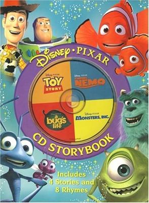 Disney Pixar CD Storybook (Hardcover)
