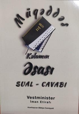 Müqəddəs Kəlamın əsası Sual-cavabı (Board Book)
