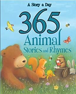 365 Animal Stories and Rhymes (Hardcover)