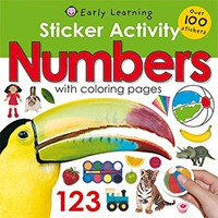 Numbers With Coloring Pages